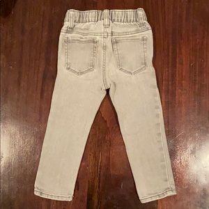 Boys 2T Skinny Old Navy Grey Jeans